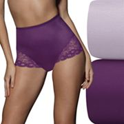 Bali 2 pkFirm Control Lace Briefs X054 - Women's