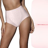 Bali 2-pack Light Control Lace Shaping Briefs X372