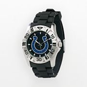 Game Time Indianapolis Colts Silver-Tone MVP Watch - Men