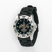 Game Time New Orleans Saints Silver-Tone MVP Watch - Men