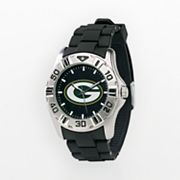 Game Time Green Bay Packers Silver-Tone MVP Watch - Men
