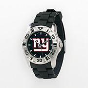 Game Time New York Giants Silver-Tone MVP Watch - Men