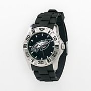 Game Time Philadelphia Eagles Silver-Tone MVP Watch - Men