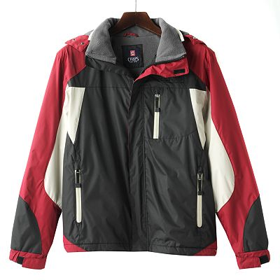 Chaps Colorblock Fleece-Lined Jacket