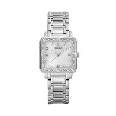 Bulova Watch - Women's Stainless Steel - 96R107