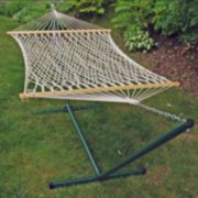 Algoma Rope Hammock & Stand - Outdoor