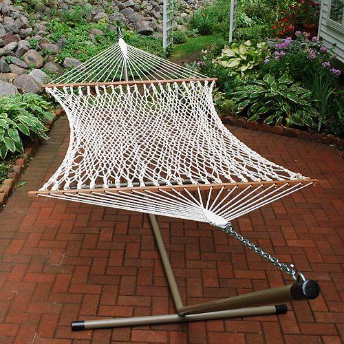 Algoma 13-ft. Double Rope Hammock - Outdoor