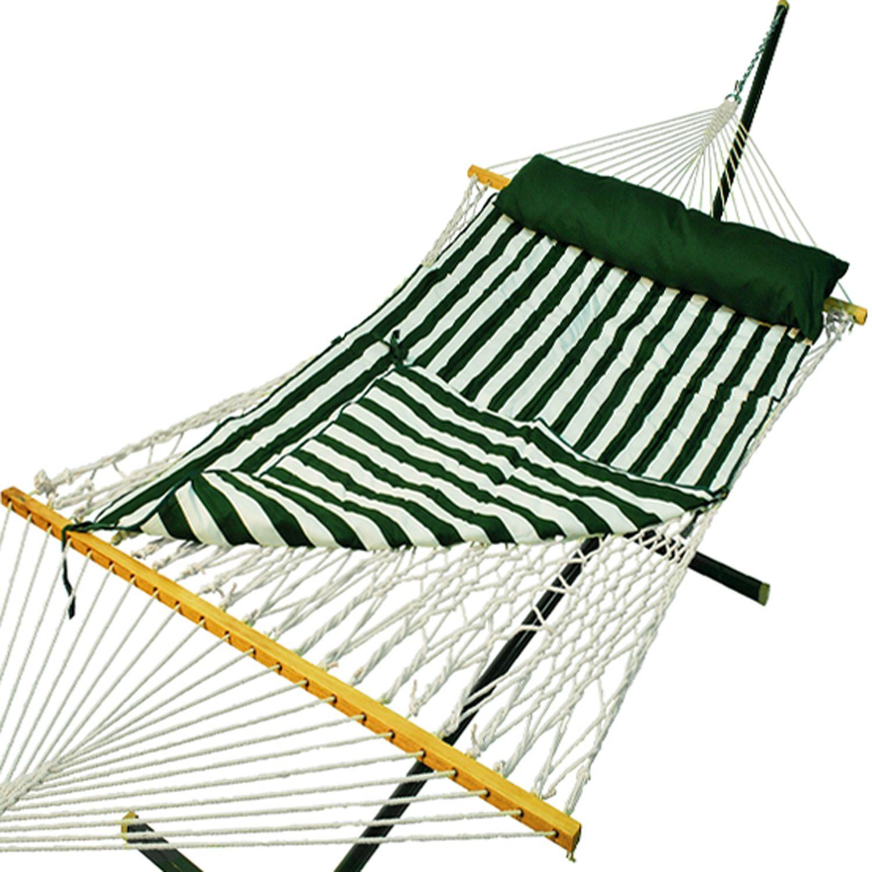 algoma padded double rope hammock   outdoor padded double rope hammock   outdoor  rh   kohls