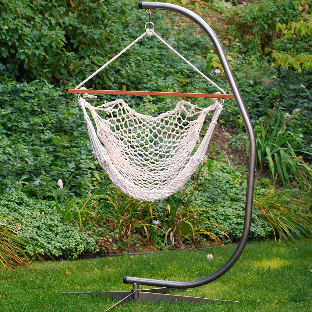 Algoma Hanging Rope Chair - Indoor & Outdoor