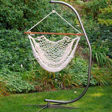 Algoma Hanging Rope Chair - Indoor & Outdoor