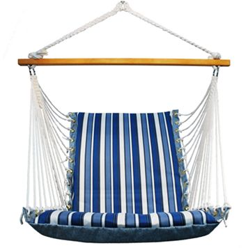 Algoma Reversible Cushioned Hanging Chair - Indoor & Outdoor