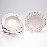 Certified International Firenze Ivory 4 pc Soup Bowl Set