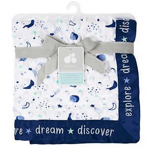 Just Born Star Velboa Blanket
