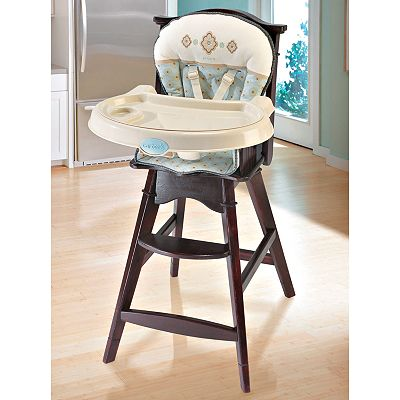 Carter's Classic Comfort Reclining Wooden High Chair