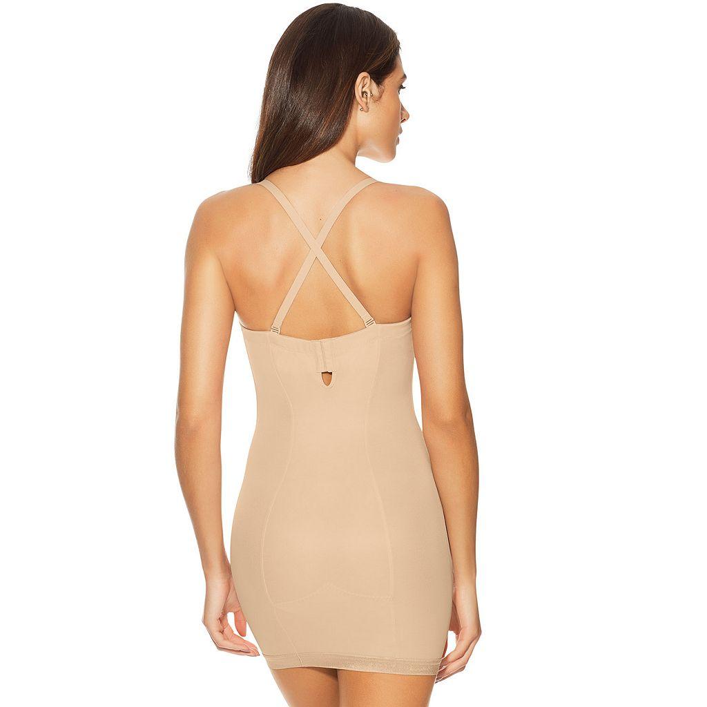 Maidenform Shapewear Easy-Up Firm Control Strapless Slip 2304 - Women's