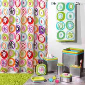 Creative Bath All That Jazz Fabric Shower Curtain