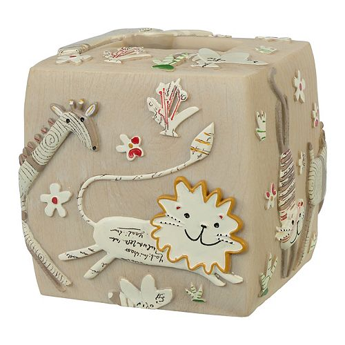 Creative Bath Animal Crackers Tissue Holder