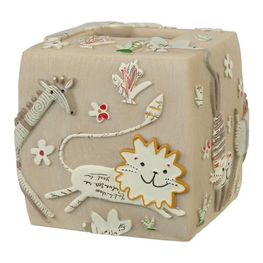 Creative Bath Animal Crackers Tissue Holder