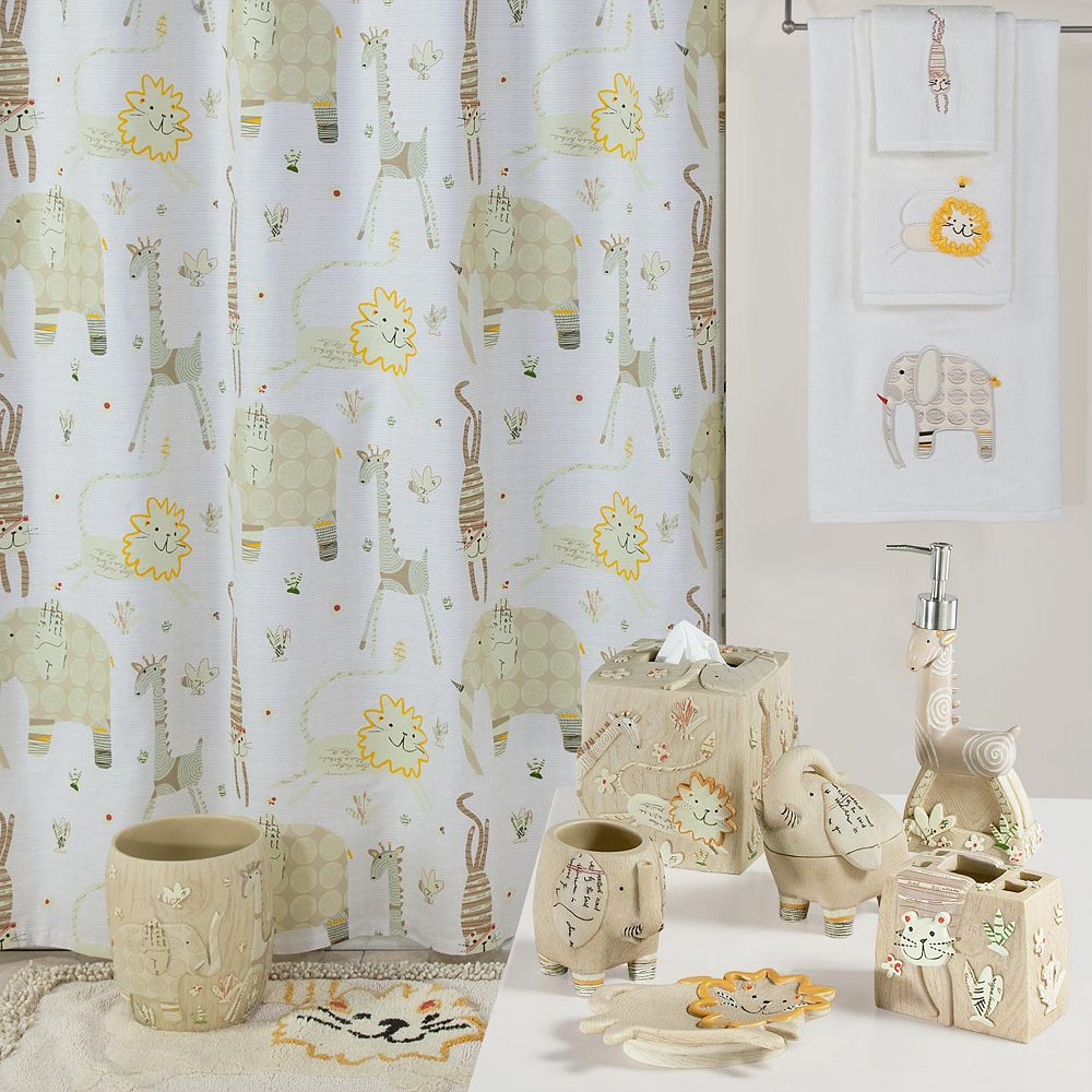 Creative Bath Animal Crackers Shower Curtain Collection