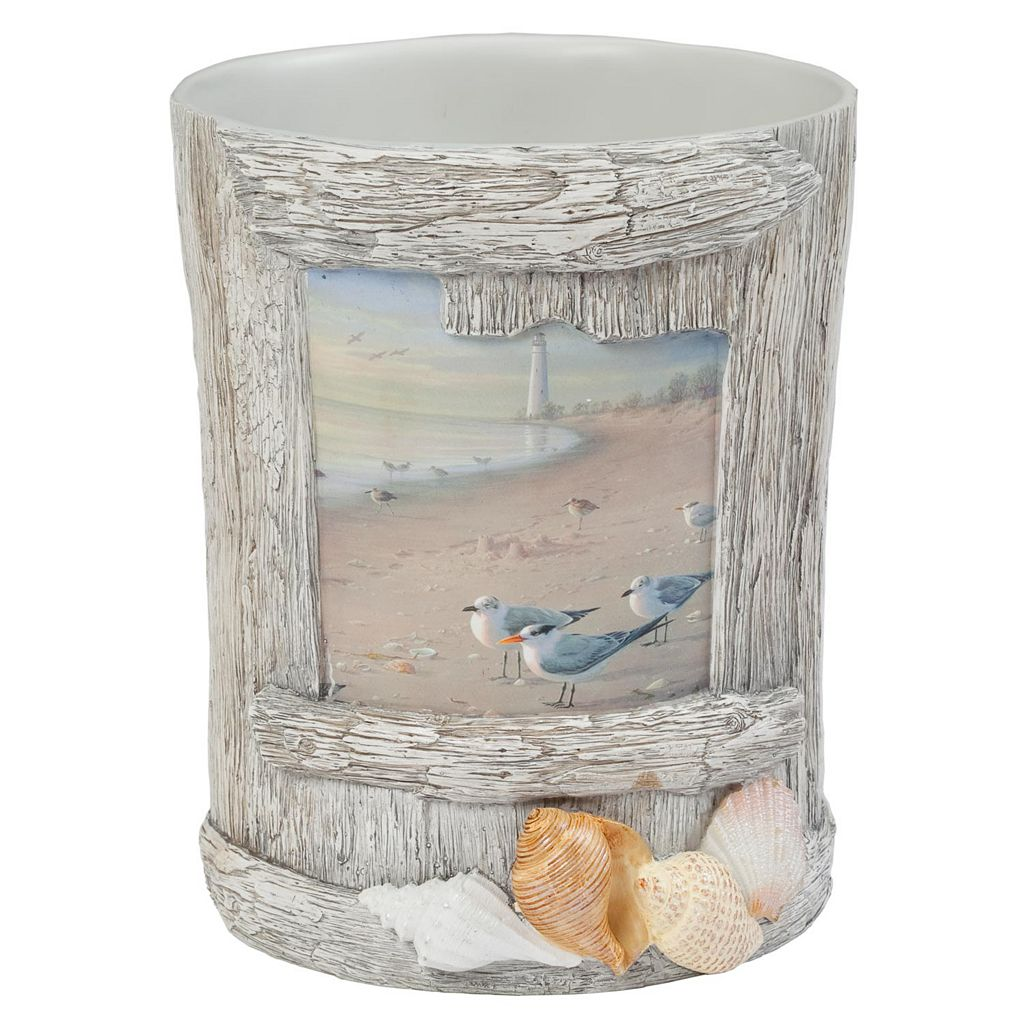 Hautman Brothers At The Beach Wastebasket