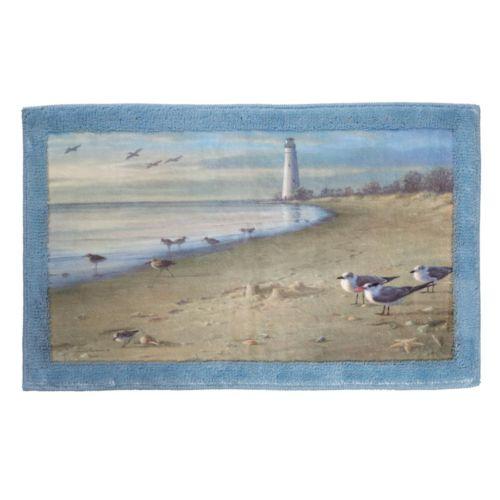 Creative Bath At The Beach Bath Rug