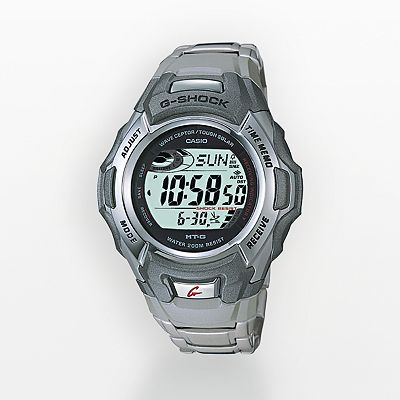 Casio G-Shock MT-G Tough Solar Stainless Steel Atomic Digital Watch - Men