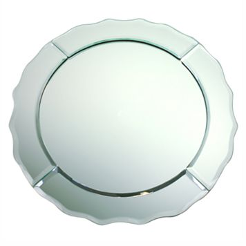Charge It Mirrored Charger Plate
