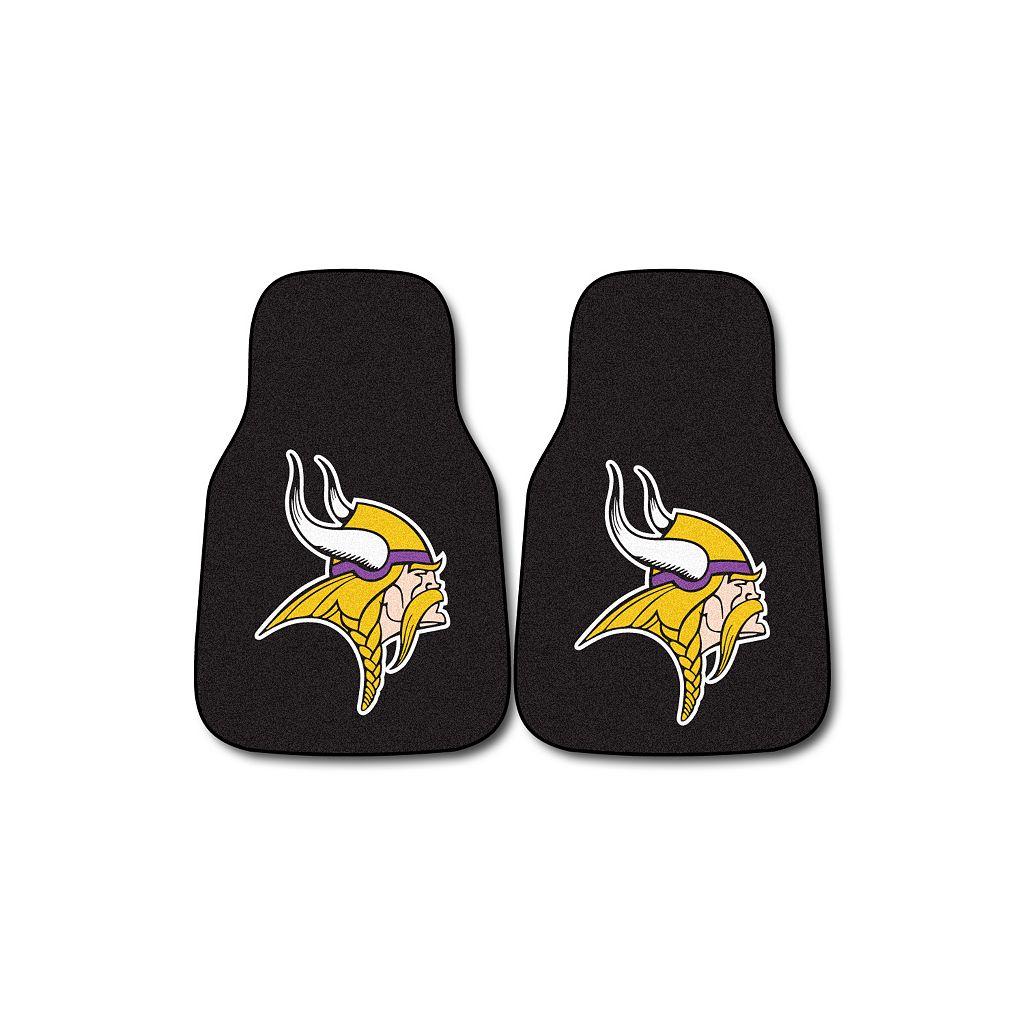FANMATS® 2-pk.Minnesota VikingsCar Floor Mats
