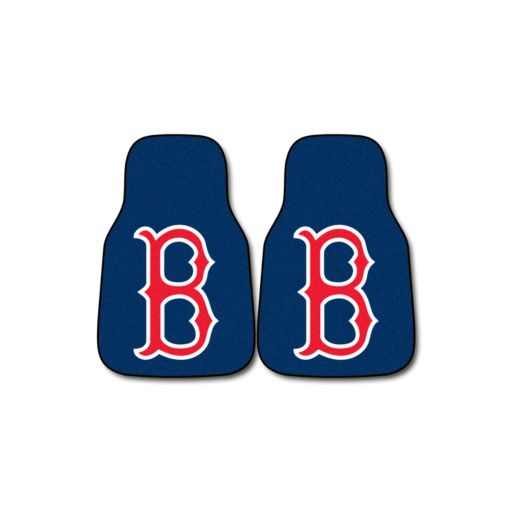 FANMATS 2-pk. Boston Red Sox Car Floor Mats