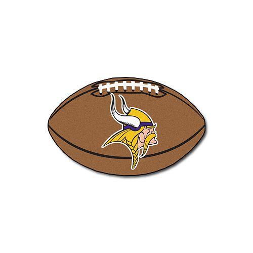 FANMATS Minnesota Vikings Football Rug