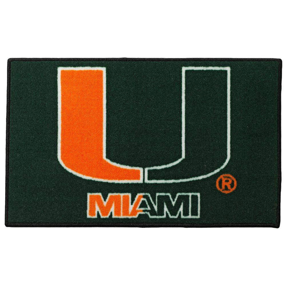 FANMATS® Miami Hurricanes Rug