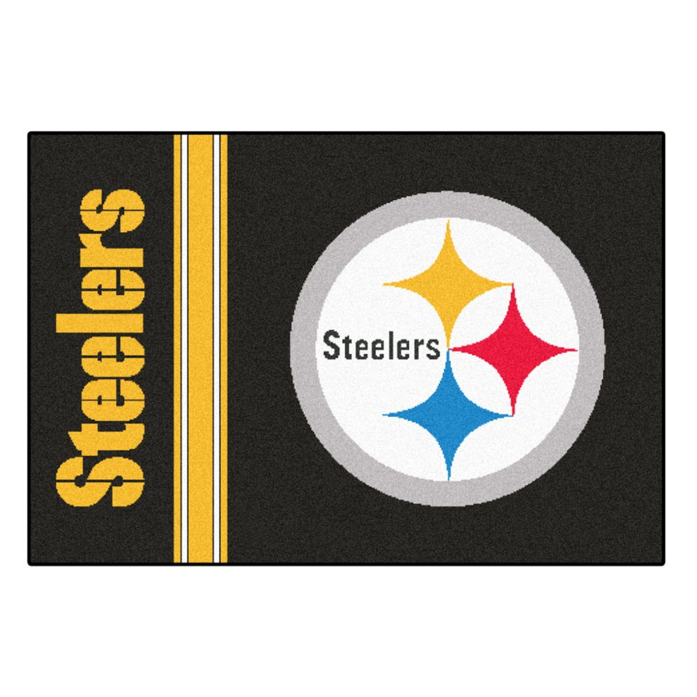 pittsburgh steelers rug