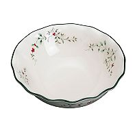 Pfaltzgraff Winterberry Large Ruffle Pasta Bowl