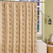 Beatrice Home Fashions Mosaic Fabric Shower Curtain