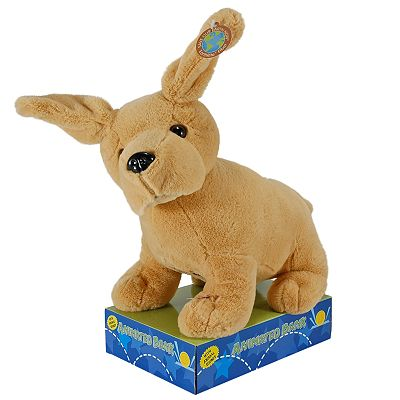 Animated Plush Dog Bank