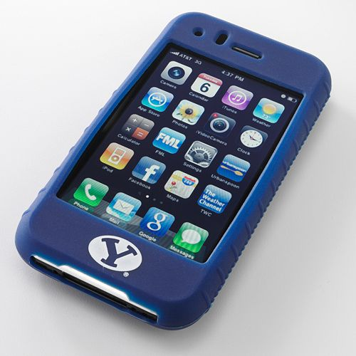 Ifanatic Byu Cougars Iphone 3G/3Gs Gamefacez Silicone Case