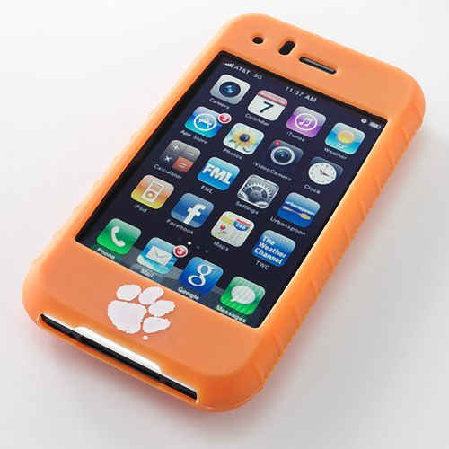Ifanatic Clemson Tigers Iphone 3G/3Gs Gamefacez Silicone Case