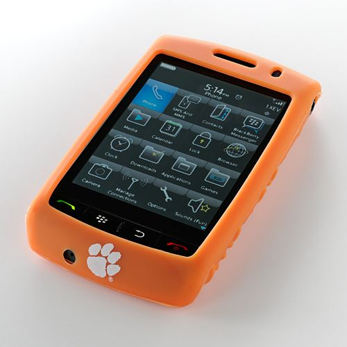 Ifanatic Clemson Tigers Blackberry Storm Gamefacez Silicone Case