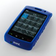 iFanatic Duke Blue Devils Blackberry Storm Gamefacez Silicone Case