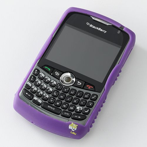 Ifanatic Lsu Tigers Blackberry Curve Gamefacez Silicone Case