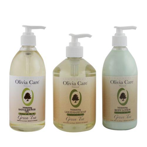 Olivia Care Green Tea Moisturizing Bath Gift Set