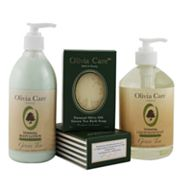Olivia Care Green Tea Moisturizing Bath Gift Set