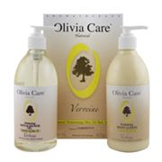 Olivia Care Verbena Moisturizing Bath Gift Set