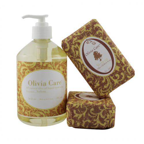 Olivia Care Verbena Soap Gift Set