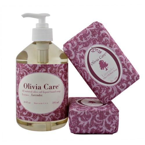 Olivia Care Lavender Soap Gift Set