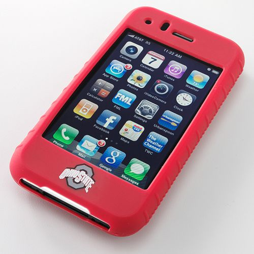 Ifanatic Ohio State Buckeyes Iphone 3G/3Gs Gamefacez Silicone Case