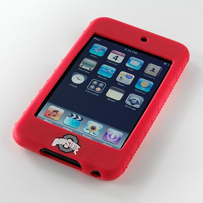 iFanatic Ohio State Buckeyes iPod touch Gamefacez Silicone Case