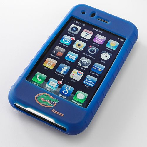 Ifanatic Florida Gators Iphone 3G/3Gs Gamefacez Silicone Case