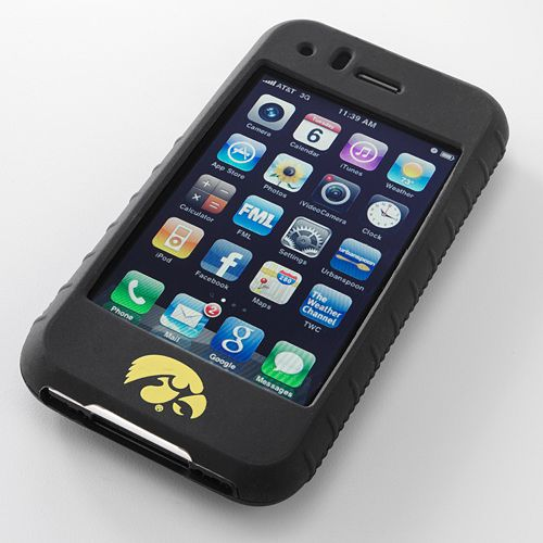 Ifanatic Iowa Hawkeyes Iphone 3G/3Gs Gamefacez Silicone Case