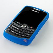 iFanatic Kansas Jayhawks Blackberry Curve Gamefacez Silicone Case